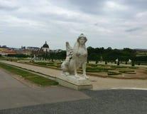 Wenen - het park bij Schönbrunn-Paleis royalty-vrije stock fotografie