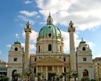 Wenen, Karlskirche 05 Stock Fotografie