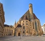 Wenen - Kerk van Minorites (Minoritenkirche) royalty-vrije stock fotografie