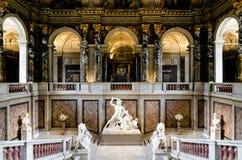 Wenen, Kunsthistorisches-Museum royalty-vrije stock foto
