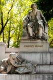 Wenen, monument van Johannes Brahms royalty-vrije stock fotografie
