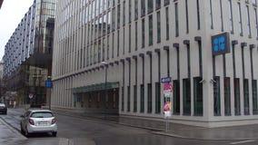 WENEN, OOSTENRIJK - DECEMBER, Organisatie 24 van het Olieuitvoerende hoofdkwartier van de OPEC van Landen Royalty-vrije Stock Afbeelding