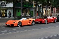Wenen, Oostenrijk in jaar 2011 Stock Fotografie