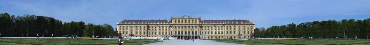 Wenen Schonbrunn (Wien Schönbrunn) Stock Foto