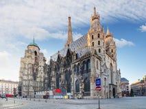 Wenen - St Stephen ` s Kathedraal, Oostenrijk royalty-vrije stock foto