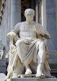 Wenen - standbeeld van Caesar Stock Afbeeldingen