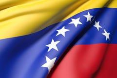 Wenezuela flaga Fotografia Royalty Free