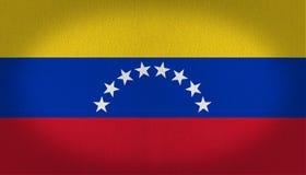 Wenezuela flaga Zdjęcie Royalty Free