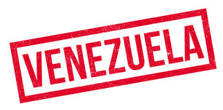 Wenezuela pieczątka Zdjęcie Stock