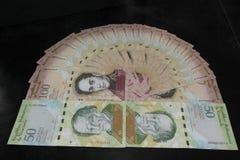 Wenezuelski pieniądze Obrazy Royalty Free