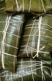 Wenezuelski Tradycyjny naczynia jedzenie Hallacas obraz stock