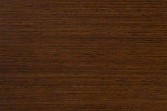 Wenge trä i makroen Royaltyfri Bild