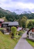 Wengen nelle alpi svizzere Immagini Stock Libere da Diritti