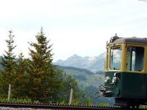 Wengen, Suiza Ferrocarril de estante que lleva al Jungfraujoch imágenes de archivo libres de regalías