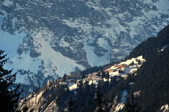Wengen Swiss Alps. Scenic view Royalty Free Stock Images
