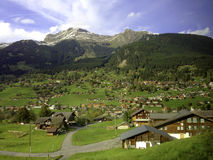 Wengwald village Royalty Free Stock Images