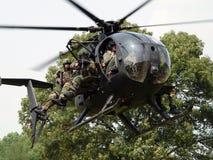 Wenig Angriff Helicoptor des Vogel-MH-6 Lizenzfreie Stockfotografie