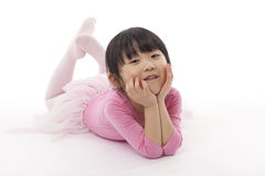 Wenig Ballett-Tänzer Stockfoto