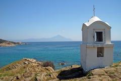 Wenig chappel in Griechenland Lizenzfreie Stockbilder