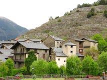 Wenig Dorf stockfoto