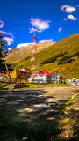 Wenig Dorf Stockfotos