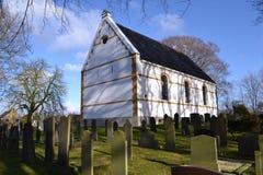 Wenig Dorfkirche Stockfotografie