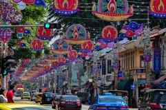 Wenig Festival Indiens Deepavali Lizenzfreies Stockbild