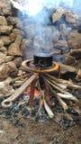Wenig Feuer stockbilder