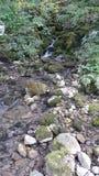 Wenig Fluss und Wasserfälle Lizenzfreies Stockfoto