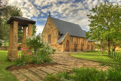 Wenig freie Zustand-Kirche Lizenzfreies Stockbild