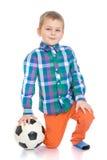 Wenig Fußball-Spieler Lizenzfreies Stockbild