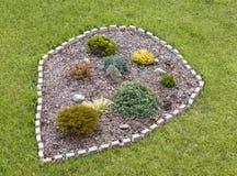 Wenig Garten Stockbild