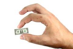 Wenig Geld stockbilder