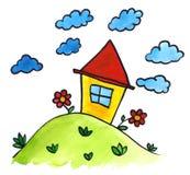 Wenig Haus stock abbildung