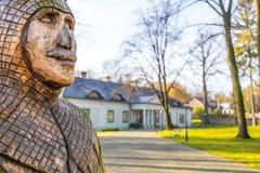 Wenig Herrenhaus in Boleslaw Poland Stockbilder