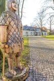 Wenig Herrenhaus in Boleslaw Poland Lizenzfreie Stockfotografie