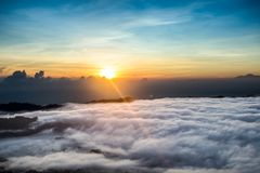 Wenig Himmel über dem Himmel lizenzfreie stockfotografie