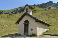 Wenig Hornstein in den französischen Alpen Lizenzfreies Stockfoto
