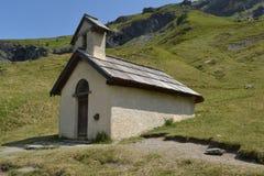 Wenig Hornstein in den französischen Alpen Stockbild
