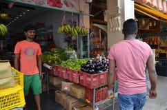 Wenig Indien-Bezirk in Singapur Stockfotografie