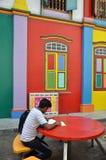 Wenig Indien-Bezirk in Singapur Lizenzfreies Stockbild