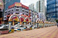 Wenig Indien Kuala Lumpur Stockfotos