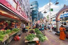 Wenig Indien oder Brickfields in Kuala Lumpur, Malaysia Lizenzfreies Stockbild