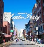 Wenig Italien in New York City lizenzfreie stockbilder