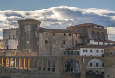Wenig Jerusalem von Toskana Lizenzfreie Stockfotos