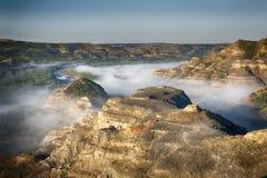 Wenig Missouri-Fluss Stockfotos