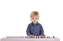 Wenig musicman Lizenzfreies Stockbild