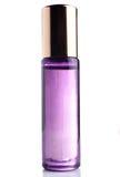 Wenig parfume Flasche auf weißem Hintergrund lizenzfreie stockfotografie