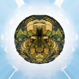 Wenig Planet Englich-Landschaft Stockbilder