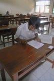 WENIG QUALIFIZIERTESTER ABSOLVENT INDONESIENS Stockbilder